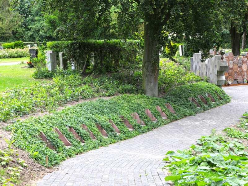 Herinrichting onderhoudsvriendelijke begraafplaats Covergreen