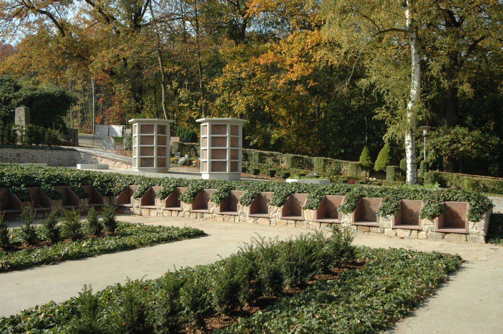 Urnenbegraafplaats crematorium Döbeln covergreen