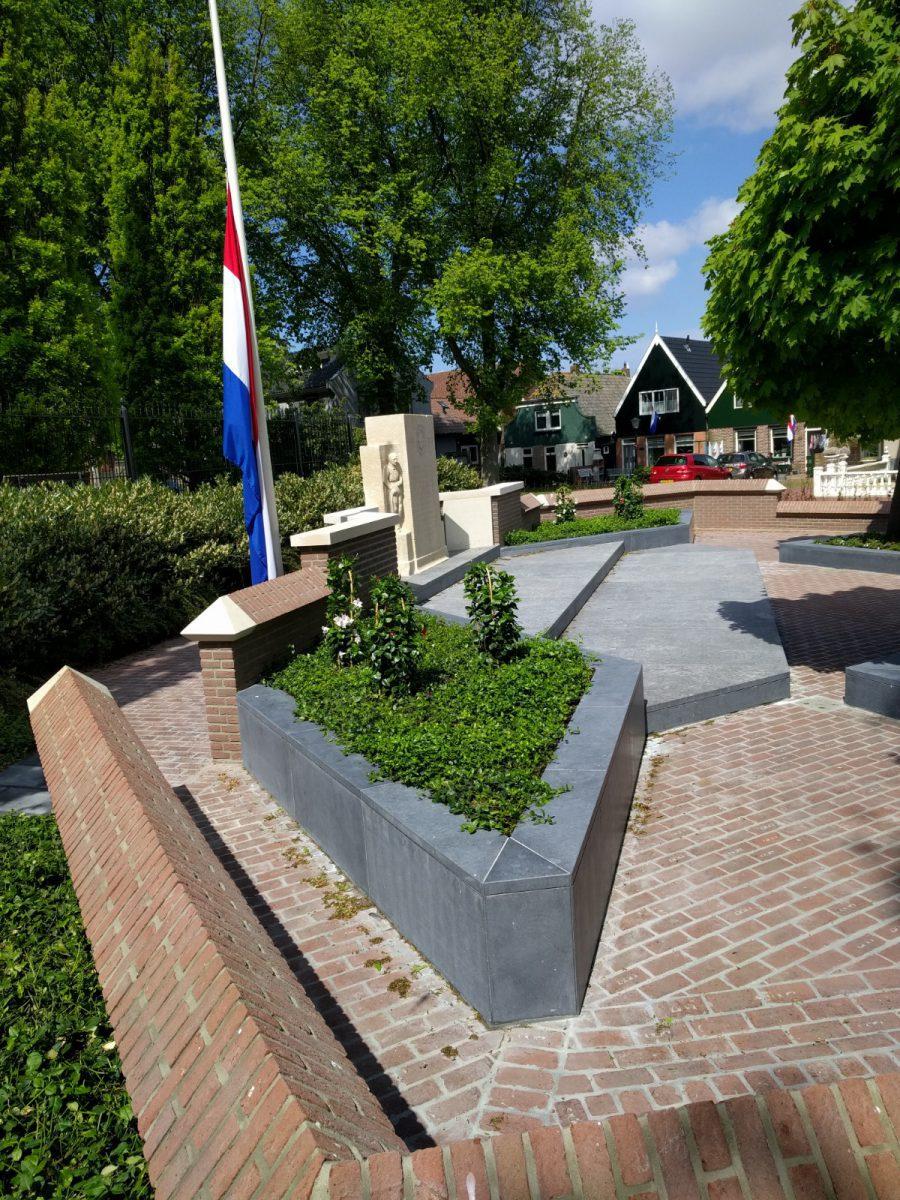 Monument beplanting